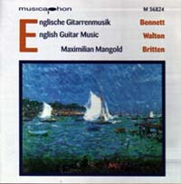 Maximilian Mangold - Englische Gitarrenmusik