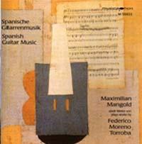 Maximilian Mangold - Spanische Gitarrenmusik