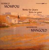 Federico Mompou - Werke für Gitarre