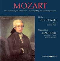 Maximilian Mangold - Mozart in Bearbeitungen seiner Zeit